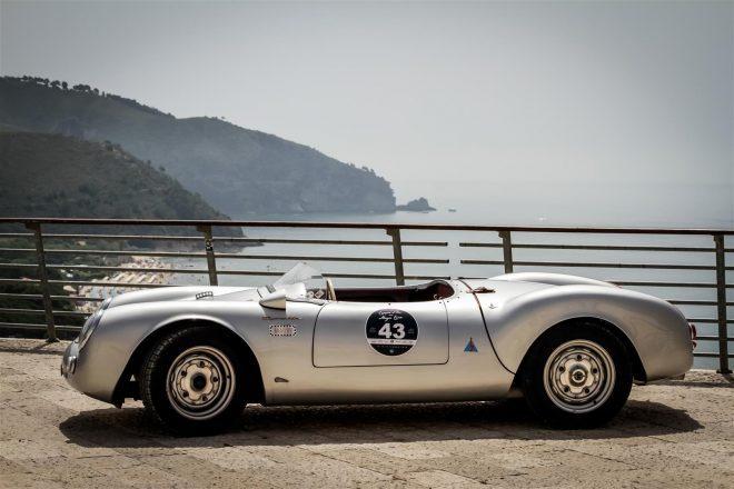 Porsche 550 alla Coppa d'Oro della Maga Circe