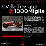 Villa Trasqua lancia la III edizione dell'evento fotografico #VillaTrasqua@1000Miglia
