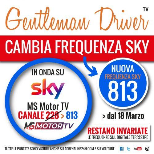 Locandina Gentleman Driver TV nuovo canale