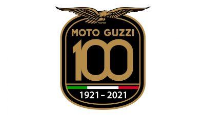 Logo Moto Guzzi Centenario