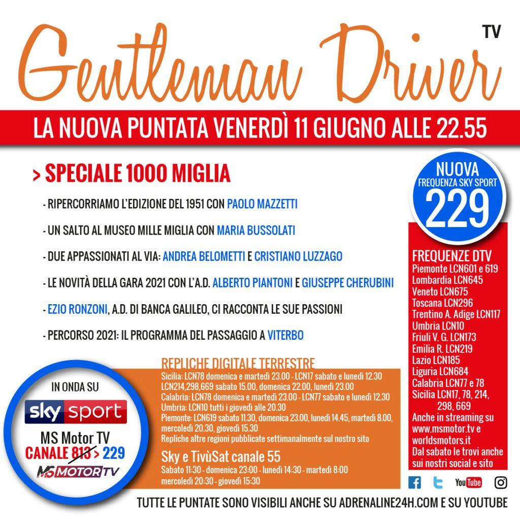 Gentleman Driver Speciale 1000 Miglia