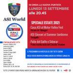 ASI World, lunedì 13 settembre la nuova puntata!!!